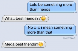 friendzoned!